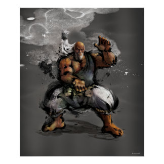 Postura de Gouken Poster