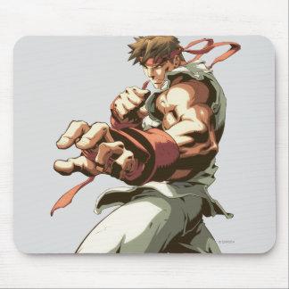 Postura de Ryu Alfombrilla De Ratón