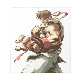 Postura de Ryu Blocs