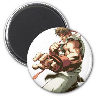 Postura de Ryu Imanes Para Frigoríficos