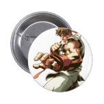 Postura de Ryu Pin Redondo De 2 Pulgadas