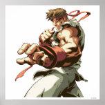 Postura de Ryu Póster
