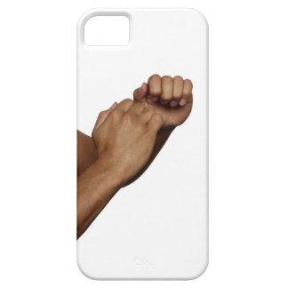 Postura del karate funda para iPhone SE/5/5s