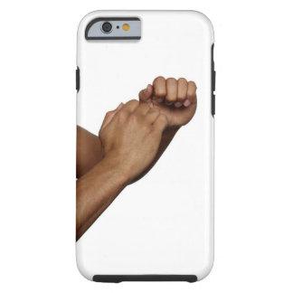 Postura del karate funda resistente iPhone 6