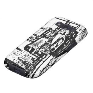 Postura delantera del STI Impreza Galaxy S3 Protector