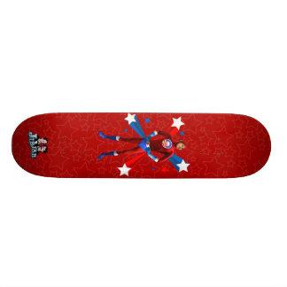 Postura heroica - monopatín tablas de patinar