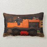 Postwar Lionel Gang Car Pillow