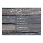 Postwood Gray Large Business Cards (Pack Of 100)
