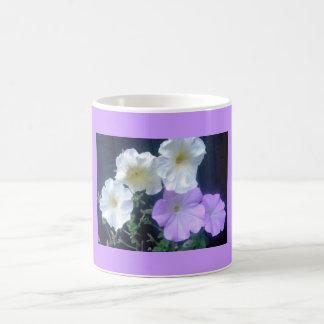 Posy Of Petunias Flower   Mug