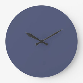 Posy Violet in an English Country Garden Large Clock
