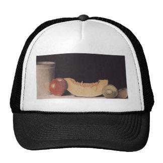 Pot and Fruit Art Cap Trucker Hats