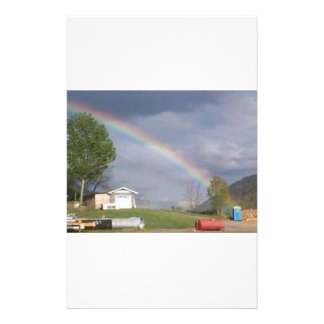 pot at the end of the rainbow stationery
