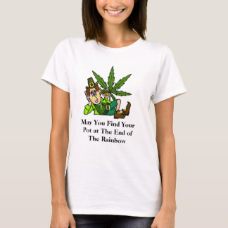 Pot at The End of The Rainbow T-shirt Ver. 3