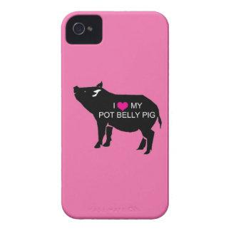 Pot Belly Pig Blackberry Bold Case
