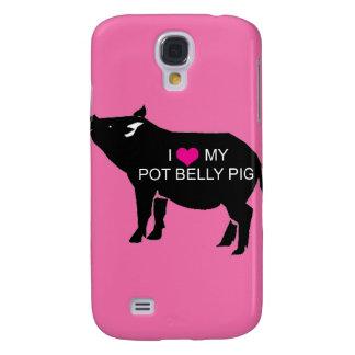Pot Belly Pig iPhone 3 Case
