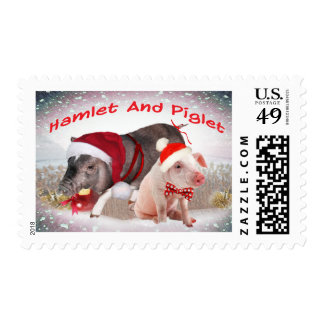 Pot Belly Pigs Postage
