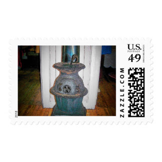Pot Belly Stove Postage
