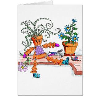 Pot lady cards