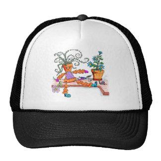 Pot lady trucker hat