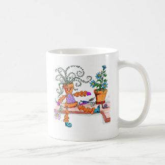 Pot lady mugs