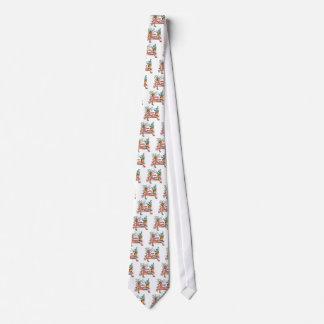Pot lady neck tie