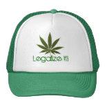 pot-leaf, Legalize It! Mesh Hats