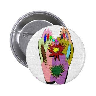 Pot Luck - Poker Hand Pinback Button
