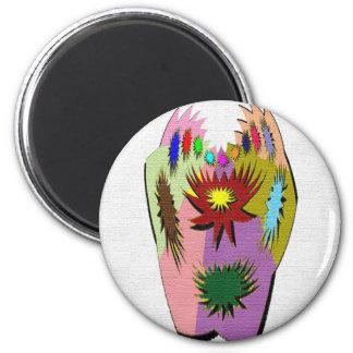 Pot Luck - Poker Hand Fridge Magnets