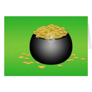 Pot-O-Gold Greeting Card