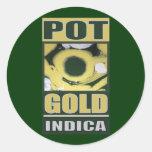 POT O GOLD INDICA STICKER