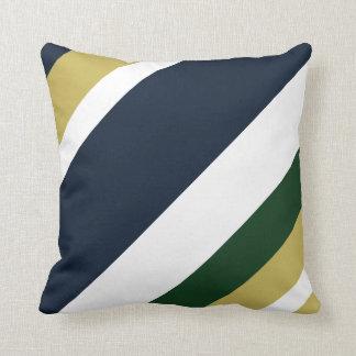 Pot o' Gold Striped Throw Pillow