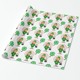 Pot O Gold Wrapping Paper