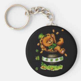 Pot of Bear Keychain