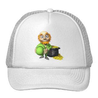 Pot Of Gold And Leprechaun Hat