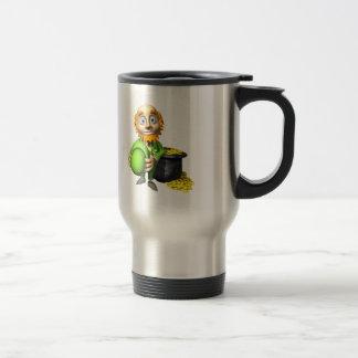 Pot Of Gold And Leprechaun Mugs