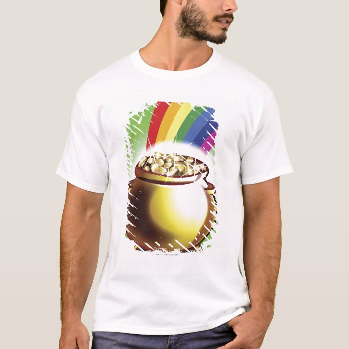 Pot of gold and rainbow T-Shirt