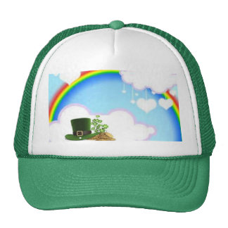 Pot of Gold at The end of Rainbow hat