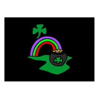 Pot of Gold Large Business Cards (Pack Of 100)