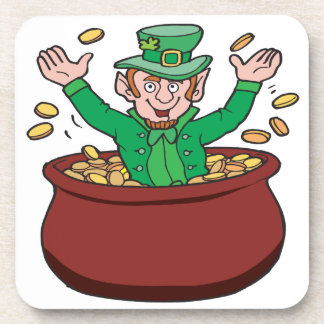 Pot Of Gold Drink Coaster