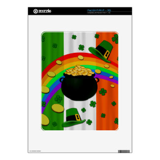 Pot of gold decal for iPad