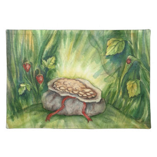 Pot of Gold Fairy Tale Placemat