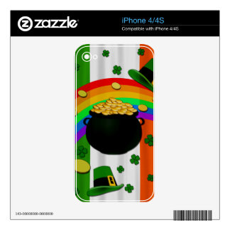 Pot of gold iPhone 4S decal