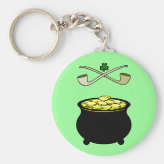 Pot of Gold Key Chains