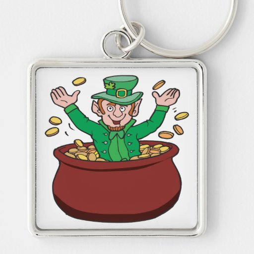 Pot Of Gold Keychain