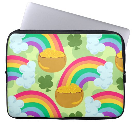 Pot of Gold Laptop Case Computer Sleeves