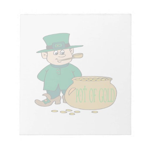 Pot Of Gold Memo Pad
