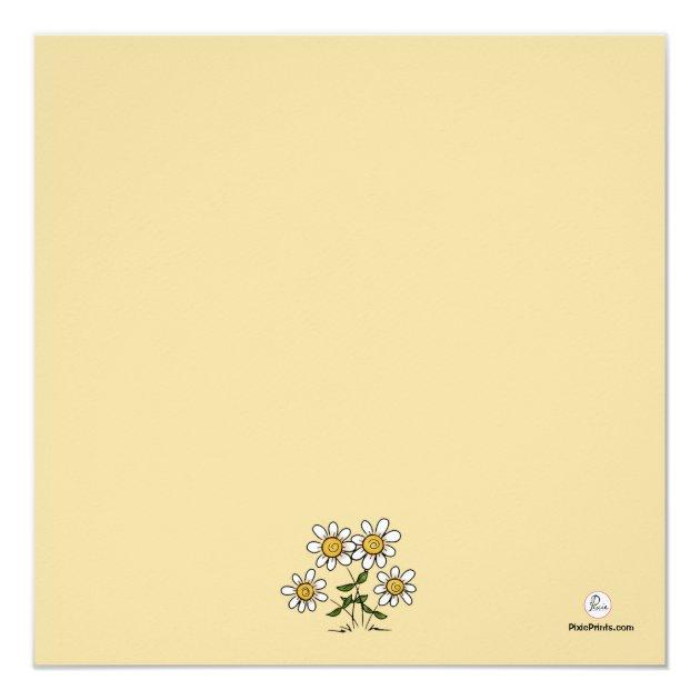 Pot of Gold - Photo St. Patrick's Day Card (back side)
