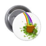 Pot of Gold Pinback Button