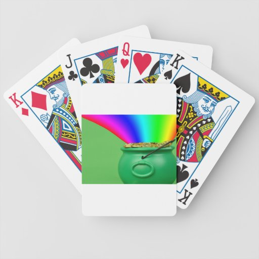 pot of gold playing cards