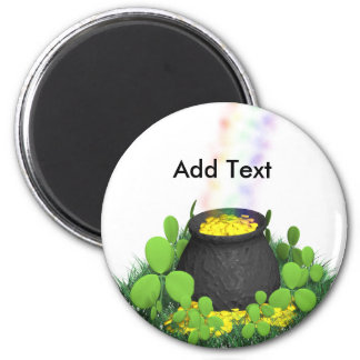 Pot of Gold Saint Patty s Gifts Refrigerator Magnet